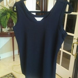 Exclusively Misook Knit Tank S/M Like New